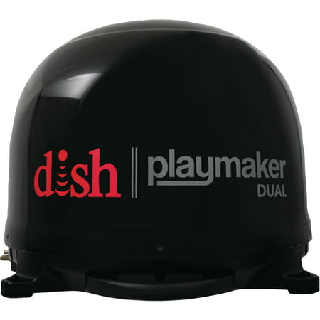 Winegard PL-8035 Dish Playmaker Dual Portable Satellite RV TV Antenna without Receiver
