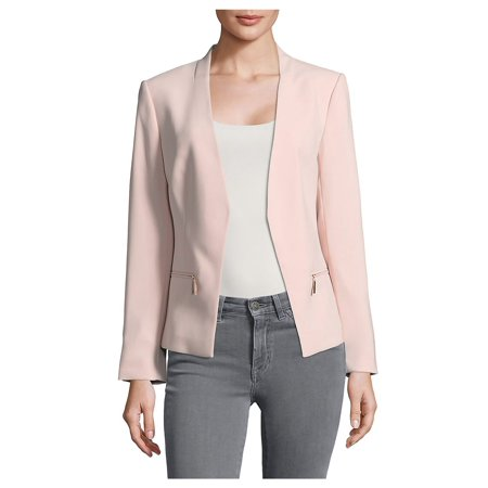 Marc New York Quilted Jacket - Collarless Open-Front Jacket