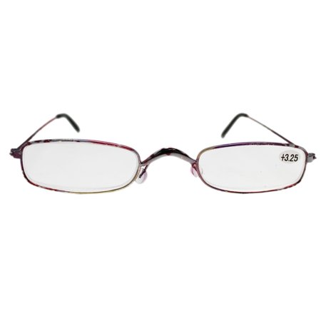 Narrow Lenses Pink and Purple Accented Frame Reading ...