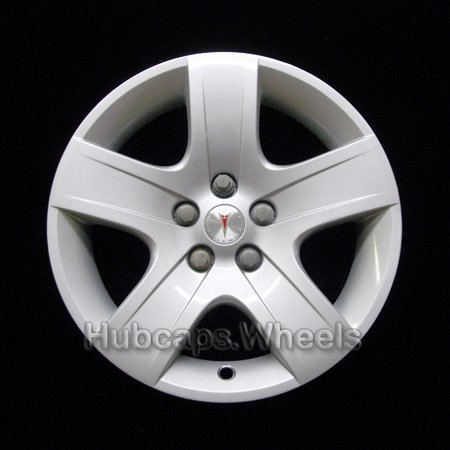Pontiac G6 Wheel Hub - OEM Genuine Hubcap for Pontiac G6 2007-2010 - Professionally Refinished Like New - 17in Replacement Single Wheel Cover