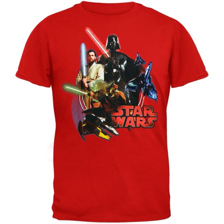 Star Wars - Lightsabers Juvy T-Shirt](Childrens Star Wars Clothing)