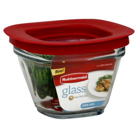 Rubbermaid Glass Easy Find Lids 1.5 Cup, 1.0 CT