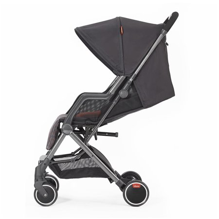Diono Traverze Super Compact Stroller - Charcoal Hive with Copper Chassis - image 7 of 11