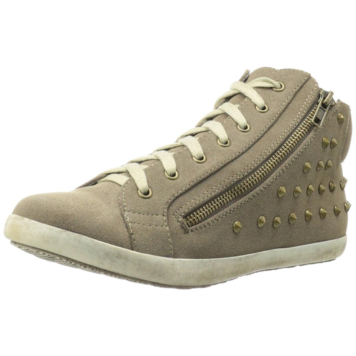Michael Antonio Paine Womens Taupe Sneakers