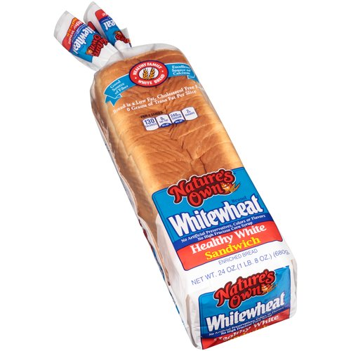 Nature's Own Whitewheat Healthy White Sandwich Enriched Bread, 24 oz