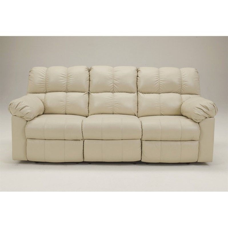 Ashley Furniture Kennard Leather Power Reclining Sofa In