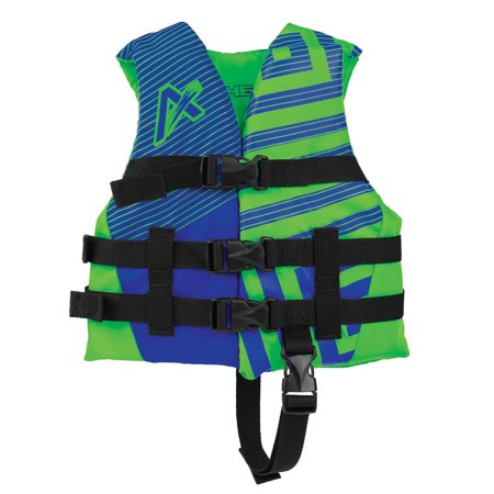 Boys Life Vest (Airhead Trend Closed Side Boys Life Vest (Blue, 30-50 Lbs.))