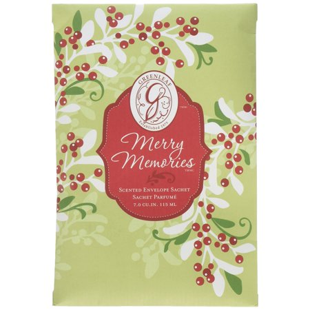 Greenleaf Large Scented Envelope Sachet Pack of 6 - Merry - Scented Envelope
