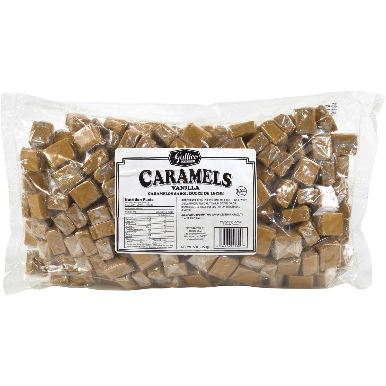 Ferrara, Caramels Candy, 5 Lb