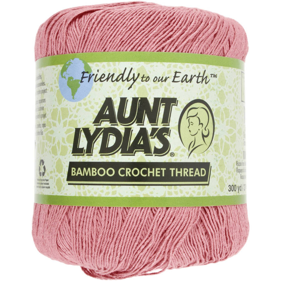 Aunt Lydia's Bamboo Crochet Thread, 3 yards, Size 10