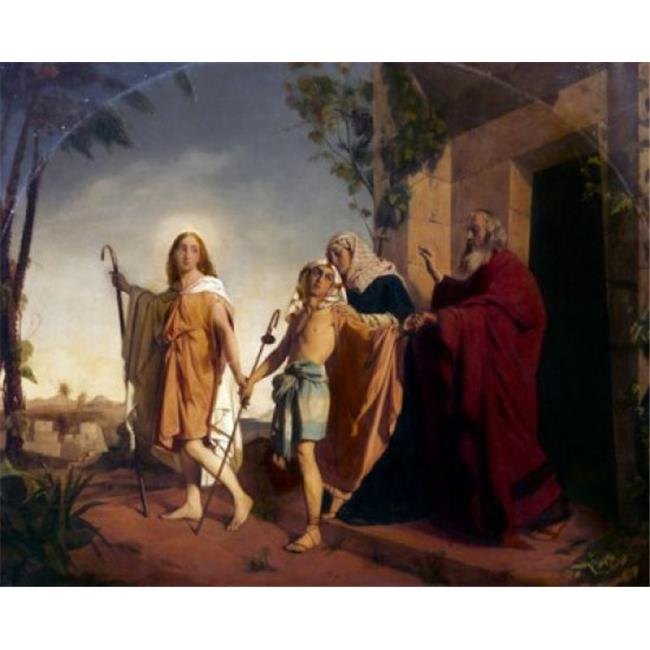 Posterazzi SAL9003290 Farewell to Tobias by Rudolph K.E. Lehmann 1819-1892 Poster Print - 18 x 24 in. - image 1 de 1