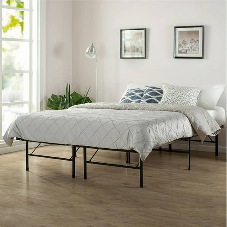 Spa Sensations by Zinus Platform Bed Frame, Twin/Full Folding Rollaway Bed Frame