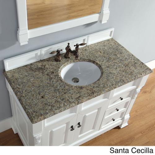 James Martin Furniture 48-Inch Brookfield Cottage Single Drawer Vanity