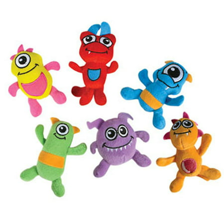 Generic Value Plush - MONSTERS (6 Different Colors) (4 inch)