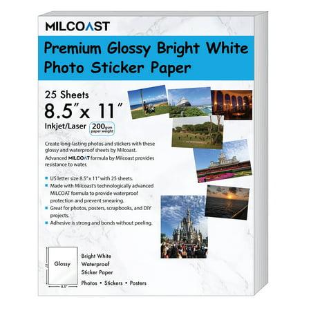 Dichroic Slide Paper (Milcoast Glossy Full Sheet 8.5