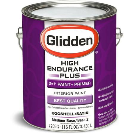 High Endurance Plus Medium Base Eggshell Interior Paint 1 Gallon