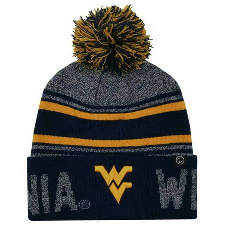 b44da744 Zephyr Hats University of West Virginia Orbit Knit Hat NCAA College Beanie  Cap - Walmart.com