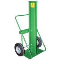 400 Series Cart, For 9.5-12.5 dia. Cylinders, Firewall, 10 Pneumatic Wheels