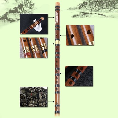 Bamboo Flute Woodwind Musical Instrument Beginner Learner Student Practice Training Traditional Handmade Professional Bamboo Flutes Walmart Canada