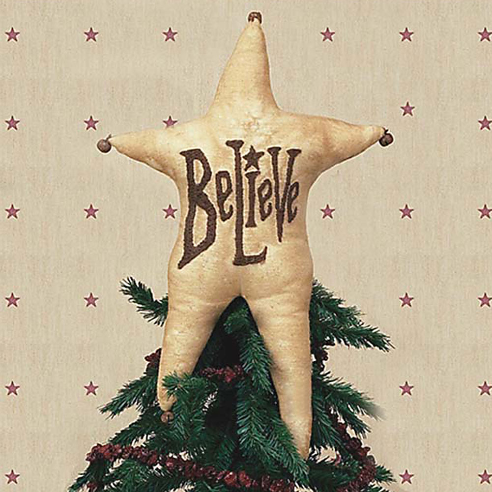 Believe Tree Topper