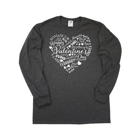 Valentine words Long Sleeve T-Shirt