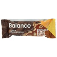 Balance Bar , Gold , Chocolate Peanut Butter, 1.76 Oz, Pack Of 6