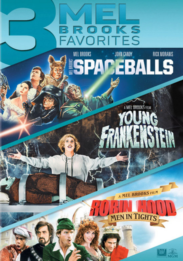 Spaceballs   Young Frankenstein   Robin Hood: Men in Tights (DVD) by Mgm