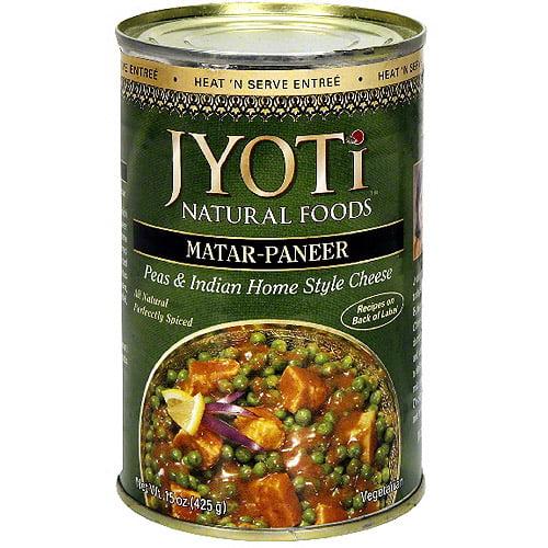 Jyoti Matar-Paneer, 15 oz (Pack of 6)