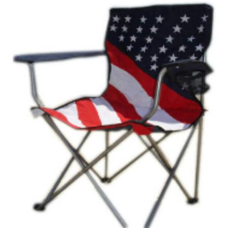 World Famous Sports Folding Stars Stripes Chair Walmart Com
