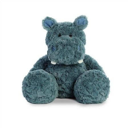 RUMBLE HIPPO Stuffed Animal Plush by Aurora, 12