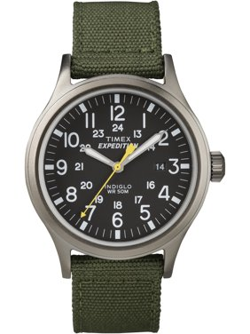Timex Men's Expedition Scout Green Watch, Nylon Strap