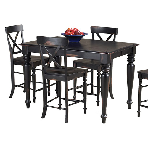 Imagio Home Roanoke Gathering Table, Rubbed Black