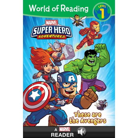 World of Reading: Super Hero Adventures:: These are the Avengers - eBook](Are Transformers Superheroes)