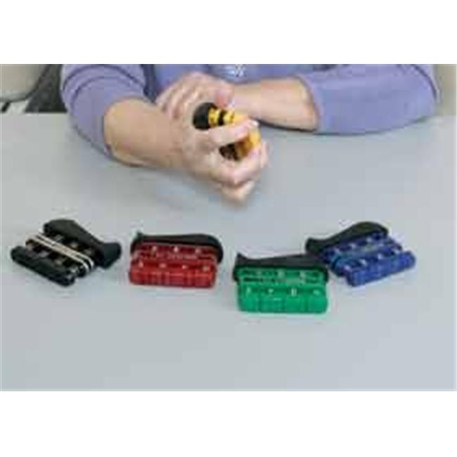 Complete Medical 10024E Gripmaster Digit-Hand Black Exerciser, Extra Heavy