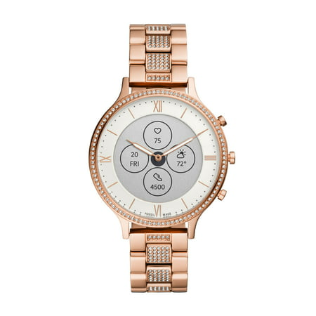 Fossil Hybrid Smartwatch HR - Charter Rose Gold Stainless Steel