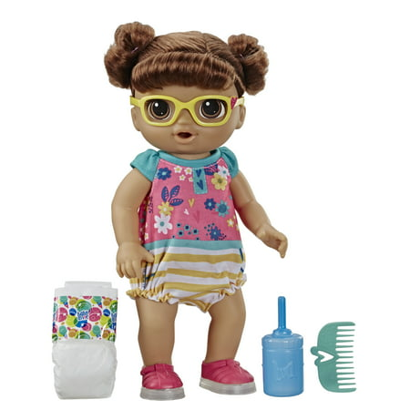 Baby Alive Step n Giggle Baby (Brown Hair), Ages 3 and Up