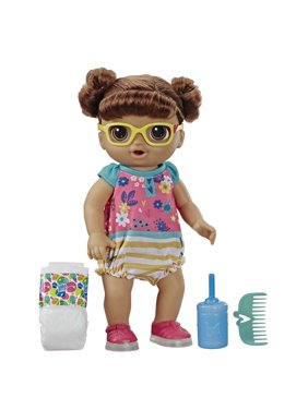 Baby Alive Step 'n Giggle Baby (Brown Hair), Ages 3 and Up