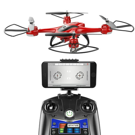 Holy Stone HS200D FPV RC Drone with 720P Camera 120°FOV Live Video WiFi Quadcopter for Beginners and Kids RTF RC Helicopter with Altitude Hold Headless Mode 3D Flips One Key Take-Off/Landing Color (Best Rtf Rc Plane)