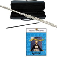 The Sound of Music Flute Pack - Includes Flute w/Case & Accessories & The Sound of Music Play Along Book
