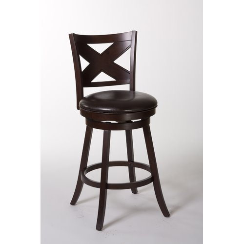 Hillsdale Furniture Ashbrook 25.75'' Swivel Bar Stool by Hillsdale Furniture