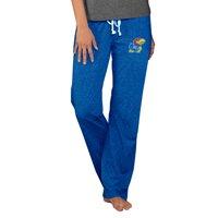 Kansas Jayhawks Concepts Sport Women's Quest Knit Pants - Royal