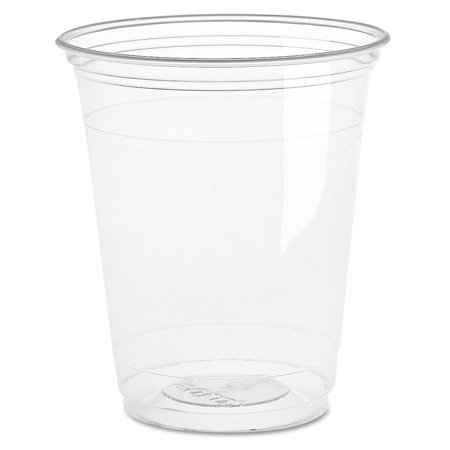 Dart Ultra Clear Cups, Squat, 16 oz, PET, 50/Bag, 1000/Carton