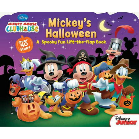 Mickeys Halloween (Board Book) - Halloween Books For Kindergarteners