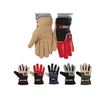 One Size Winter Skiing Glove Cycling Bicycle Bike MTB Outdoor Sports Full Finger