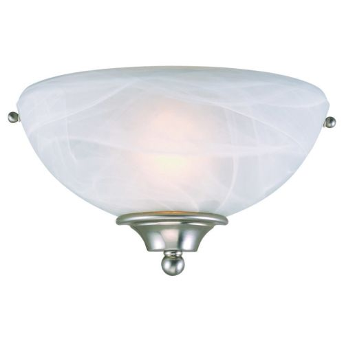 Design House 511584 Millbridge 1-Light Wall Sconce, Satin Nickel by DHI Accents