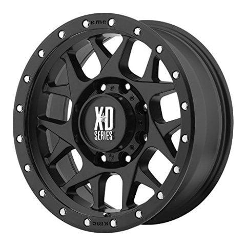 Xd Series By Kmc Wheels Xd127 Bully Satin Black Wheel 20x98x180mm