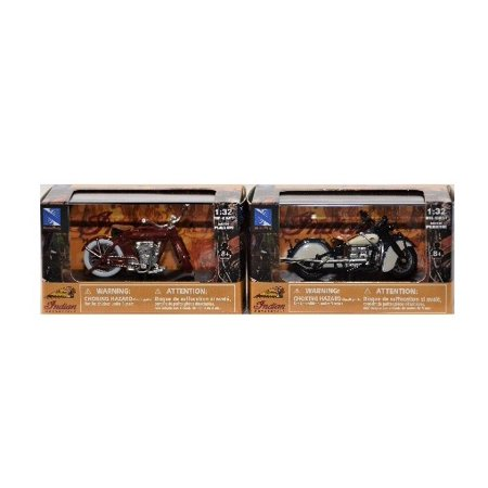 Indian Motorcycle Set of 2 Indian Four 1939 Indian V-2 1912 (Best Motorcycle Accessories 2019)
