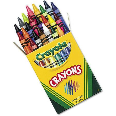 crayola classic color crayons tuck box 24 colors walmartcom - Crayola Crayons Pictures