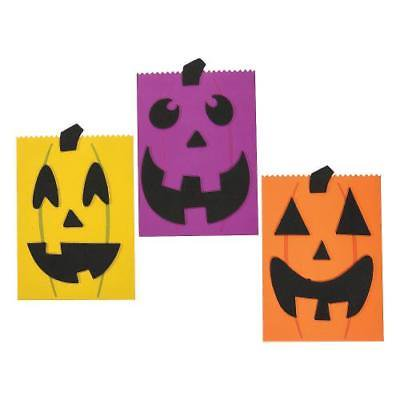 Halloween Treat Bag Craft Kit 2PK - Easy Halloween Crafts And Treats