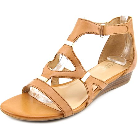 bebabb17f859 Naturalizer - Naturalizer Juniper Women Open Toe Leather Tan Sandals ...